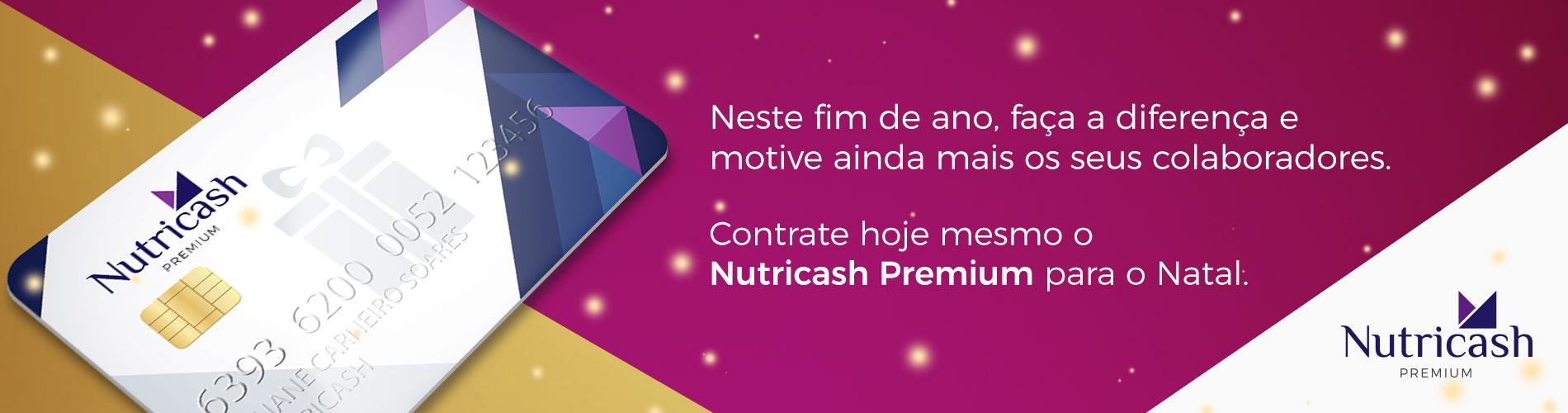 No Natal, Presenteie seus colaboradores com o Nutricash Premium