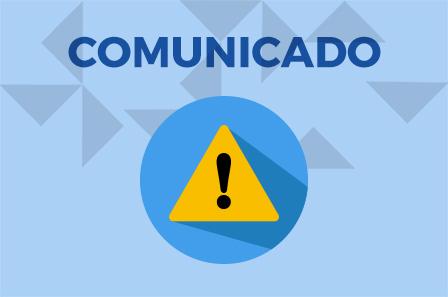 Comunicados institucionais