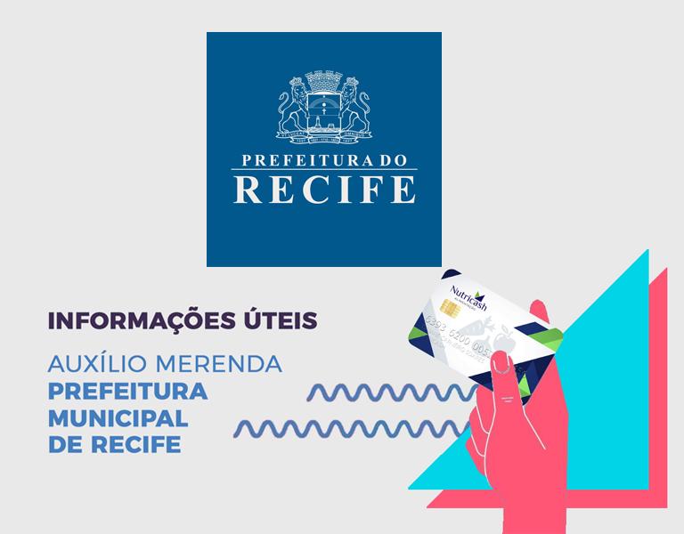 Auxilio merenda - Recife